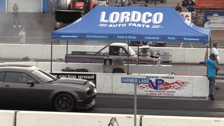 Dodge Challenger SRT Demon quarto di miglio