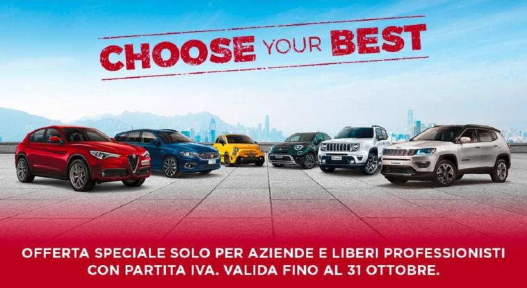 FCA Choose Your Best promozione
