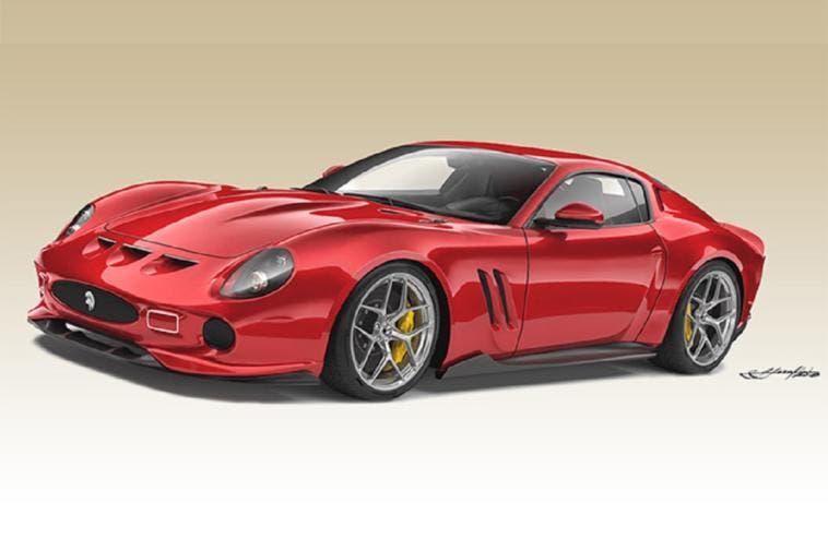 Ferrari 250 GTO Ares Design replica