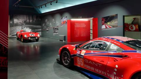 Ferrari Driven by Enzo Passion and Legend mostre