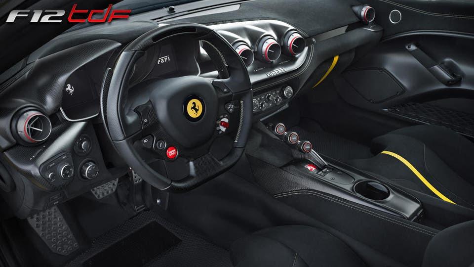 Ferrari F12tdf 5 curiosità