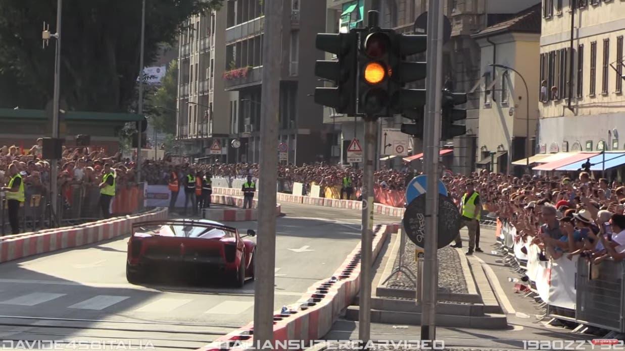 Ferrari FXX K Evo F1 Live Festival 2018 video