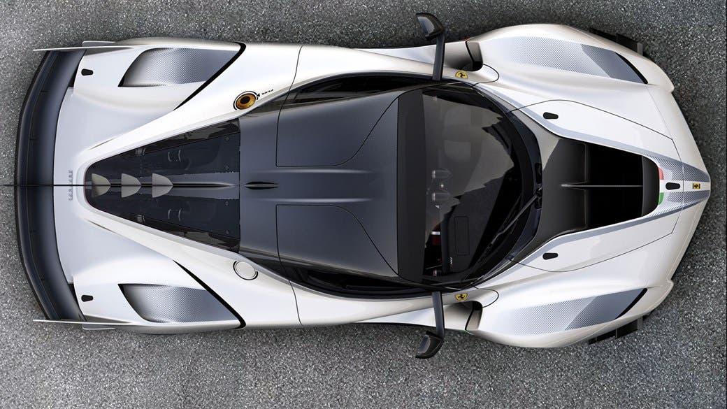 Ferrari FXX K Evo prototipo pista Fiorano