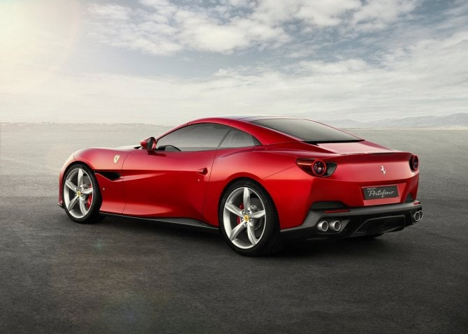 Ferrari Portofino debutto India