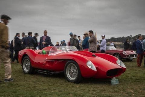 Ferrari convertibili Pebble Beach