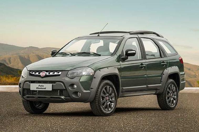 Fiat Weekend vendite agosto Brasile