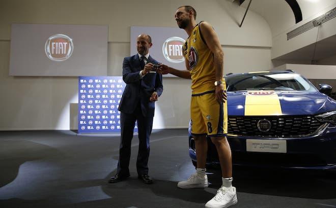 Fiat sponsor ufficiale Auxilium Torino