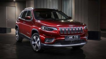 Jeep Cherokee 2019 Australia