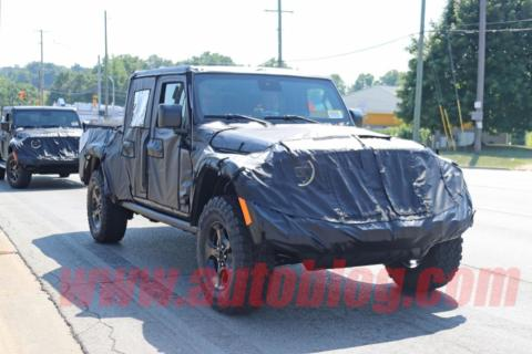 Jeep Scrambler novità ultime foto spia
