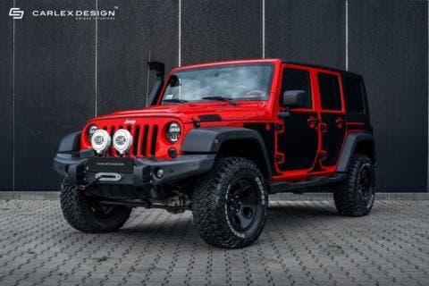 Jeep Wrangler terza generazione Carlex Design