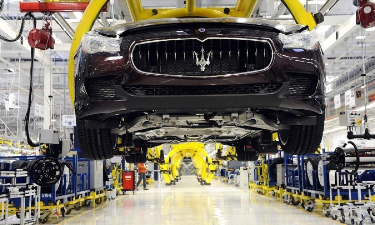 Maserati stabilimento Grugliasco stop 5 ottobre