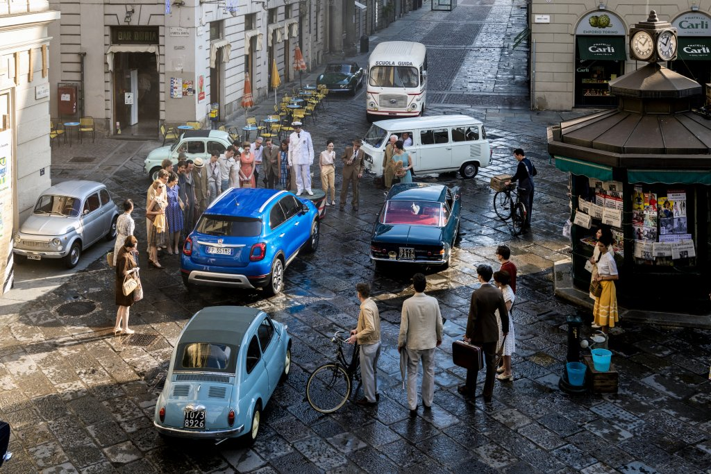 Nuova Fiat 500X video visualizzazioni