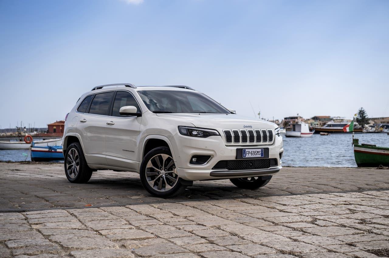 Nuova Jeep Cherokee Mopar accessori