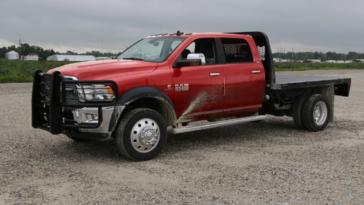 Ram Harvest Edition pick-up Chassis Cab