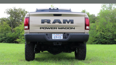 Ram Power Wagon Mojave Sand Limited Edition