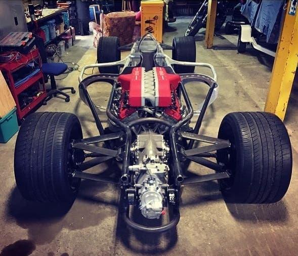 Replica monoposto F1 motore Ferrari V12