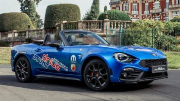 Abarth 124 Spider Guinness World Record