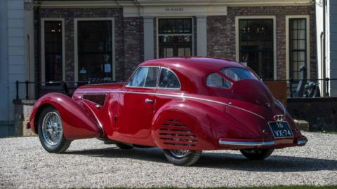Alfa Romeo 8C Touring Berlinetta asta