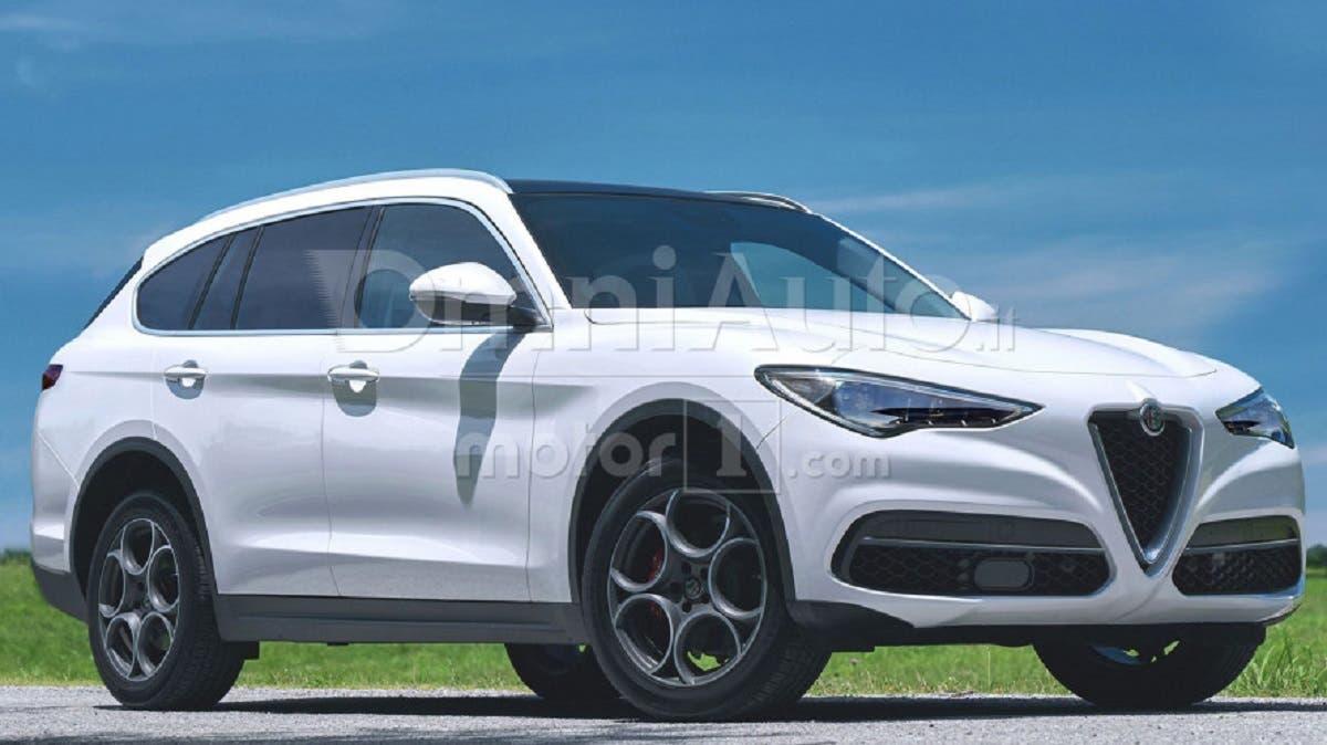Alfa Romeo Castello: ecco una nuova ipotesi del grande SUV ...