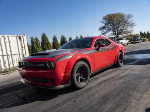 Dodge Demon SpeedKore SEMA 2018