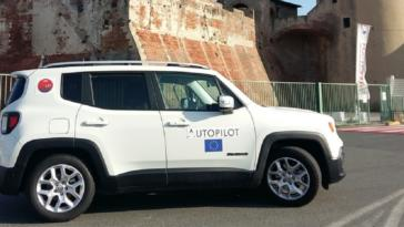 FCA Jeep Renegade Smart Roads for AD cars