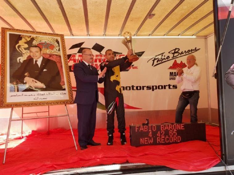 Ferrari 458 Italia Fabio Barone Speed World Record
