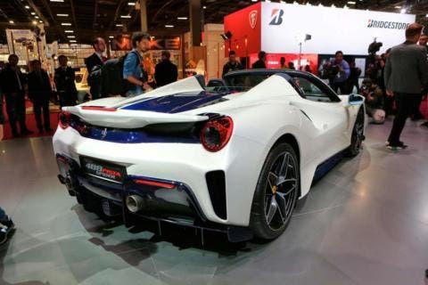 Ferrari 488 Pista Spider Salone di Parigi 2018