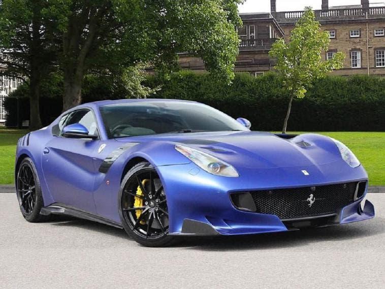 Ferrari F12tdf blu opaco