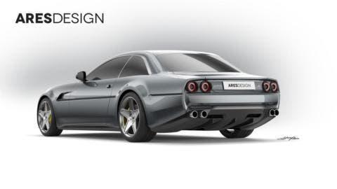 Ferrari GTC4Lusso Ares Design