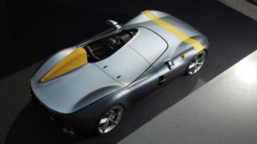 Ferrari Monza SP1 e SP2 omologazione USA