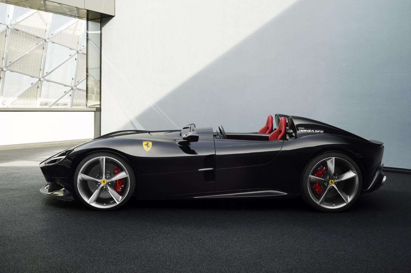 Ferrari Monza SP2 foto spia