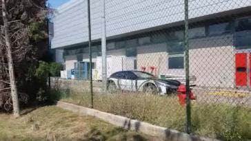 Ferrari Purosangue video spia
