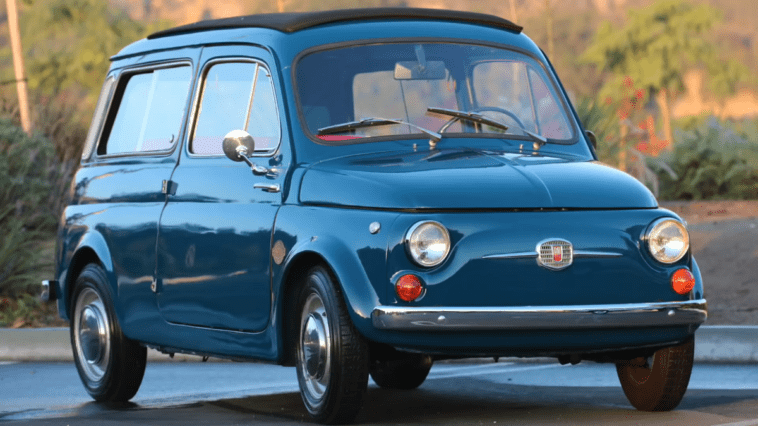 Fiat 500 Giardinetta 1966 Full Electric