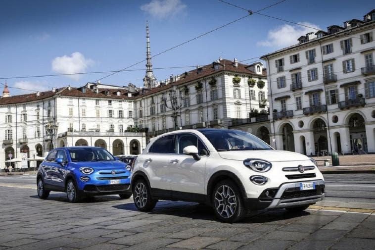 Fiat 500X ibrida fine 2019