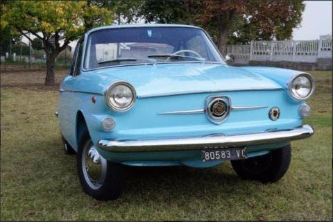 Fiat 750 Vignale esemplare 1963 asta