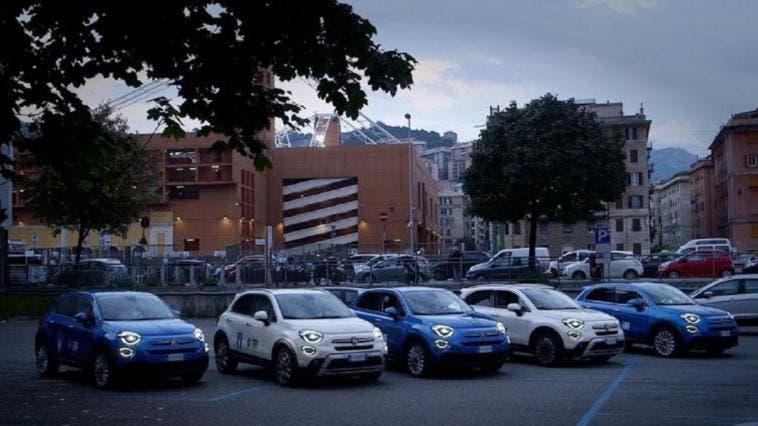 Fiat FIGC serata speciale Genova
