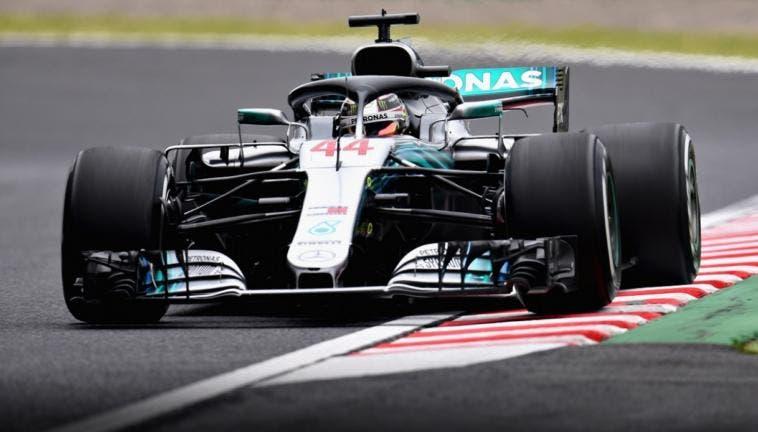 F1, Gp del Giappone: Hamilton vola nelle libere, Vettel è terzo