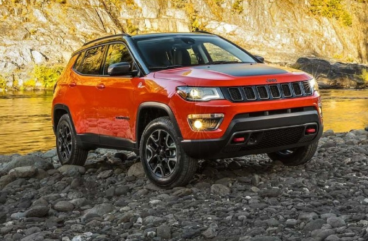 Jeep Compass Trailhawk badge Trail Rated