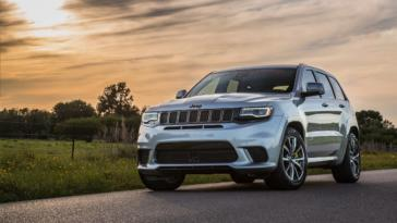 Jeep Grand Cherokee Trackhawk Hennessey HPE1200