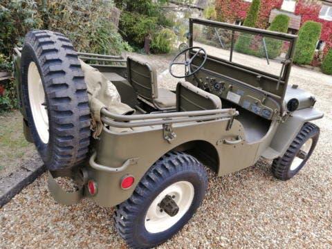 Jeep Willys esemplare Steve McQueen asta