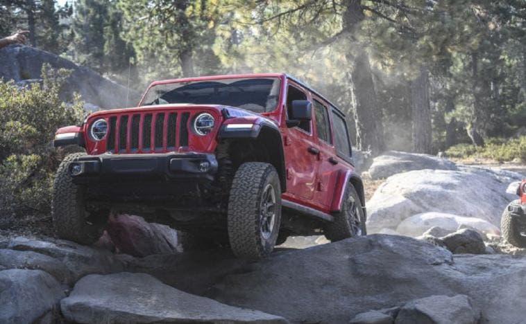 Jeep Wrangler Rubicon tracciato Rubicon Trail
