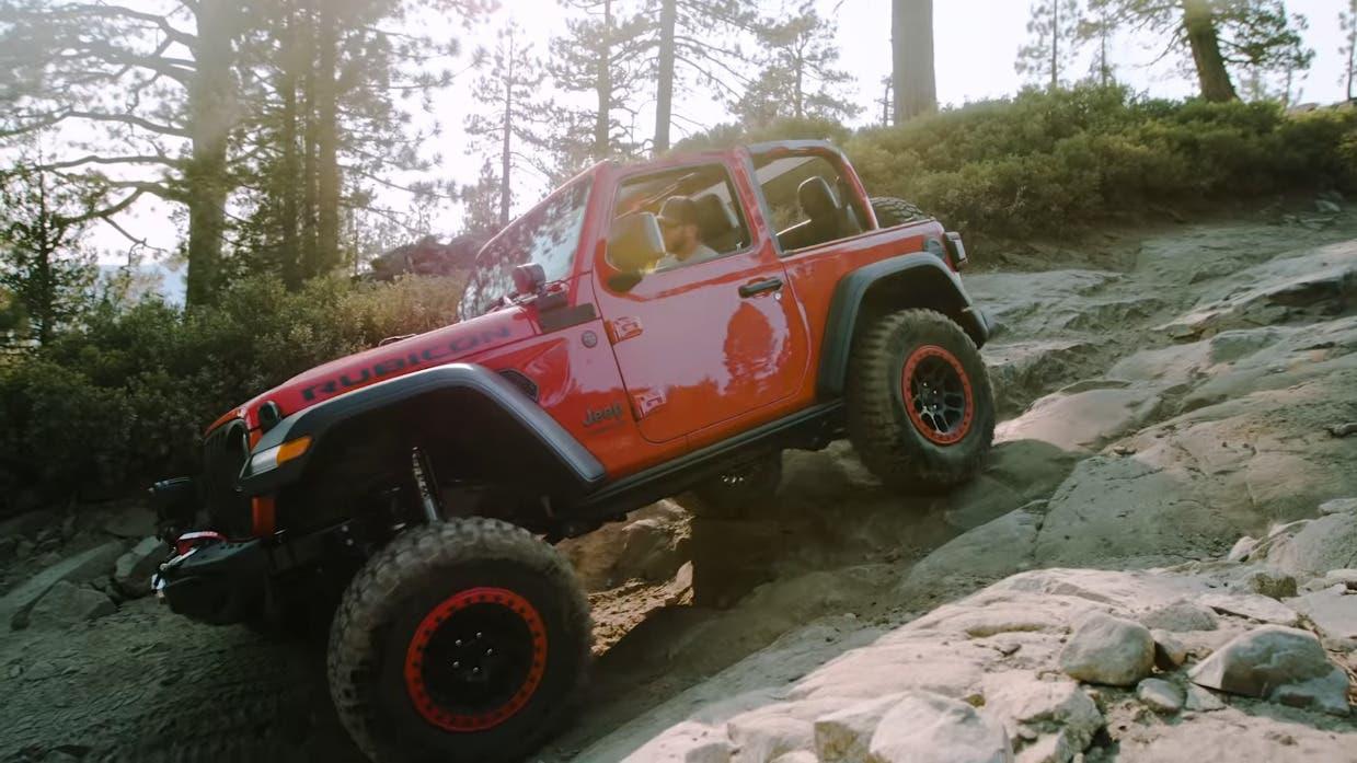 Jeep Wrangler Rubicon video Mopar