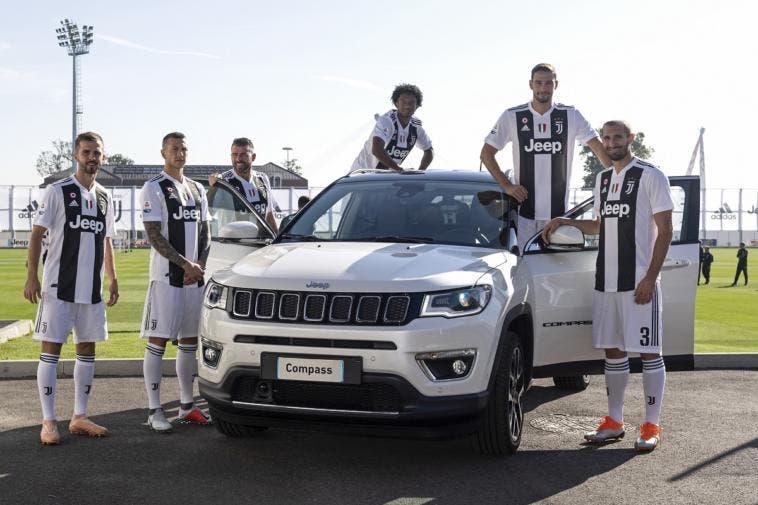 Jeep flotta SUV Juventus