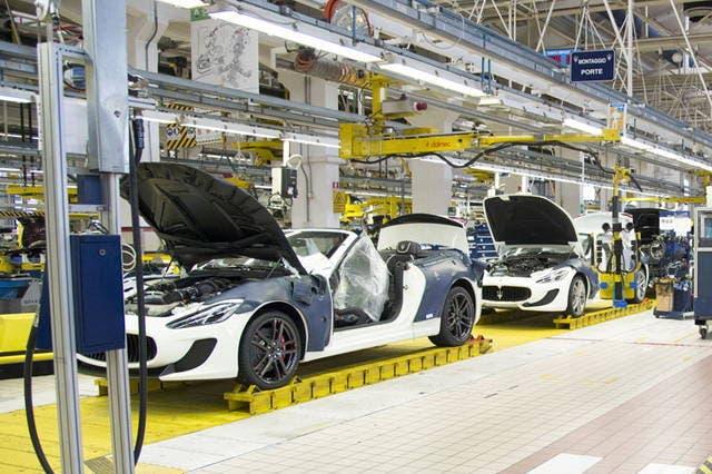 Maserati dipendenti stabilimento Modena solidarietà