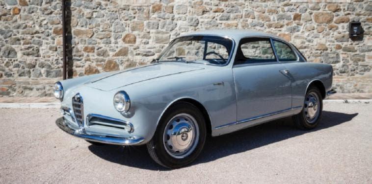 Alfa Romeo Giulietta Sprint Bertone 1956 asta