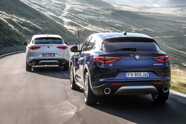 Alfa Romeo Stelvio Mission Fleet Award 2018