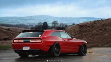 Dodge Challenger SRT Demon berlina render