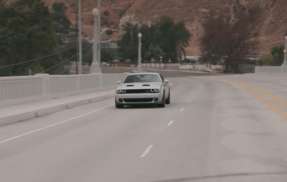 Dodge Challenger SRT Hellcat Redeye Jay Leno
