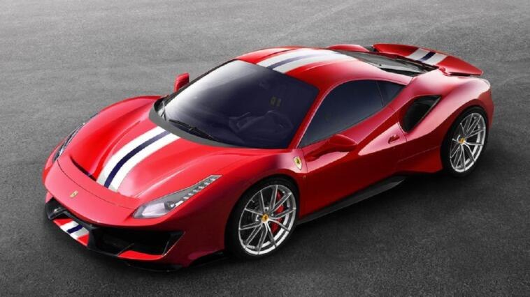 Ferrari 488 Pista Supercar of the Year 2019