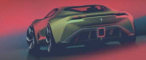 Ferrari 8E8Hyperspeed concept
